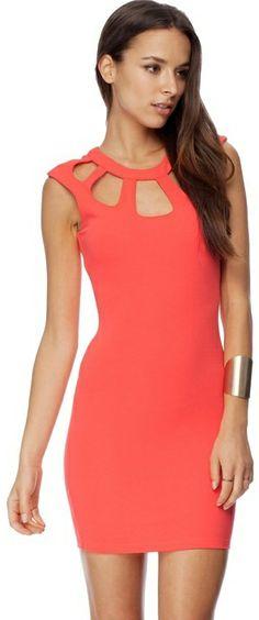 Kardashian Kollection Cut Out Dress on shopstyle.com.au