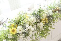 記録ポスト✍️✨ . 高砂メイン装花のアップ♡ . ゆっくりみる余裕なかったから写真に残ってて嬉しい♡♡ . 理想通り♡ お気に入り♪ . #ナチュラルウェディング #2016wedding #高砂 #装花 #メイン装花 #高砂装花 #かすみ草 #流木 #ナチュラル #卒花 #卒花嫁 #日本中のプレ花嫁さんと繋がりたい
