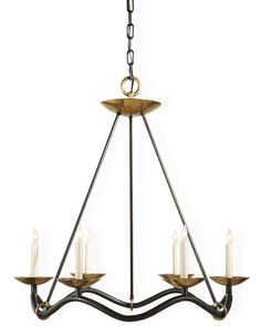 Barry Goralnick's Choros chandelier for Visual Comfort & Co.