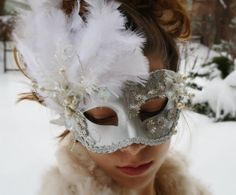 Hey, I found this really awesome Etsy listing at https://www.etsy.com/listing/169037771/masquerade-mask-silver-masquerade-ball