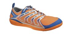 Costs a little less than the Merrell Trail Glove, not much tread, but cool colors