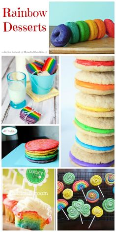 Rainbow Desserts perfect for St. Patrick's Day