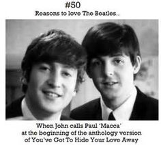 Reasons to love The Beatles..