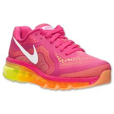 Women's Nike Air Max 2014 Running Shoes.... Just got these beauties for my birthday!!! ♡