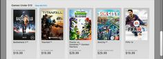 Awesome these games sure are under $10...thanks EA