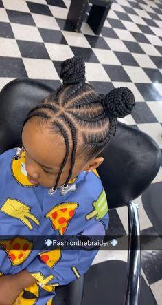 Black Baby Girl Hairstyles, Black Kids Braids Hairstyles, Little Girls Natural Hairstyles, Toddler Braided Hairstyles, Cute Kids Hairstyles, Children Hairstyles, Natural Braided Hairstyles, Natural Hair Twists, Little Girl Braid Styles