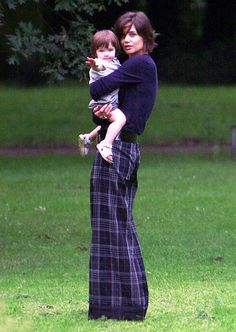 "July 13, 2007 ""I feel very lucky,"" Holmes told Harper's Bazaar that year. ""I have a husband and a baby that I adore. I have a career I really love. When I sit back and reflect, it's, like, 'Wow!' I am very grateful."""
