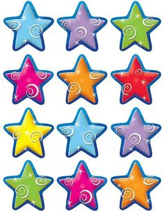 Star Classroom Theme- bulletin board cut-outs