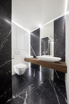 Luxusný byt s terasou, Riverpark, Bratislava Grey Bathrooms, White Bathroom, Master Bathroom, Guest Toilet, Bathroom Design Luxury, Bathroom Floor Tiles, Bathroom Inspiration, Home Decor, Modern Bathrooms