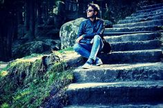 Oldest stairs of manali