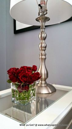 Home Decor Ideas - Flowers brighten any space in the home...try this one...