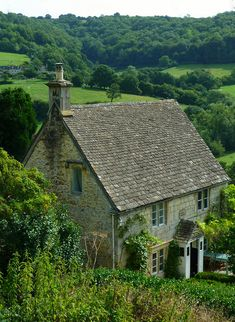 Rose Cottage in England.