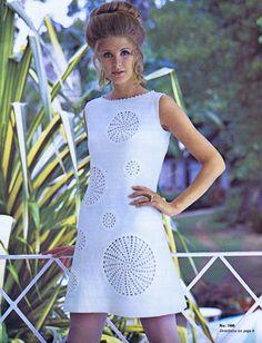 Vintage 1960s Knitting Crochet Patterns Dresses Suits by Dazespast