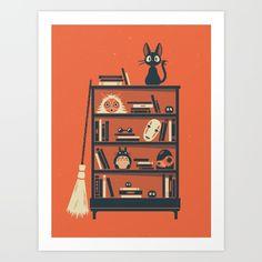 Ghibli Shelf // Miyazaki - $18