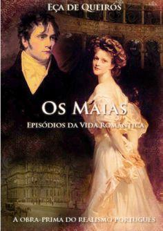 """Capa do livro """"Os Maias"""" de Eça de Queirós."""