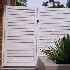 Image result for fence slats