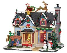 """Lemax:   """"Best Decorated House"""" with Adaptor"""