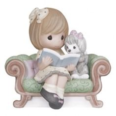 JCPenney - Precious Moments The Best Adventures Are Shared With A Friend Bisque Porcelain Figurine in Galesburg Disney Precious Moments, Precious Moments Figurines, Paypal Gift Card, Girl Reading Book, Collectible Figurines, Thoughtful Gifts, Best Gifts, Puppies, In This Moment