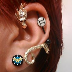 Industrious New Bioflex Flexi Hook Nose Stud With Coloured Gem Uk Seller 18g Handsome Appearance Body Piercing Jewelry