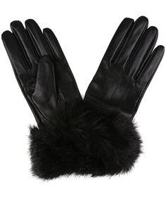 Fur Leather Gloves Womens - Women S Barbour Fur Trimmed Leather Gloves Best Winter Gloves, Best Gloves, Black Leather Gloves, Metallic Leather, Barbour Women, Fur Trim, Faux Fur, Book Aesthetic, Pretty Clothes