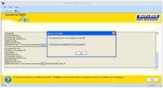 Save Repaired Files - Screenshots of Kernel for Math OpenOffice File Repair Software Tool