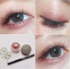 Pale Raspberry Color Eye Shadow Makeup