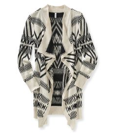 Cascade-Front Cardigan from Aeropostale