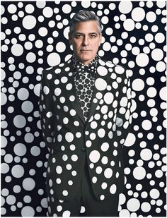George Clooney W Magazine cover by Emma Summerton