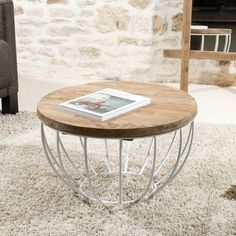 Console, Coffee Table Inspiration, Structure Metal, Living Room, Architecture, Tables Basses, Interior, Furniture, Room Ideas
