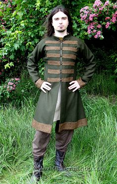 Early Medieval Scandinavian coat Viking coat  by SlavMedievalShop, $139.00