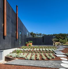 House in Ourém was designed by Filipe Saraiva Arquitectos with a classic house-shaped silhouette that references simple childhood drawings of houses. Milk Shop, Concrete Architecture, Shed Homes, House Drawing, 2020 Design, Dark Matter, Classic House, Pavement, Brown And Grey