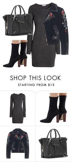 """Untitled #3639"" by dkfashion-658 ❤ liked on Polyvore featuring Zina, True Religion and Balenciaga"