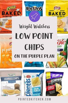 These low SmartPoint chips are all under 5 SmartPoints per portion on Weight Watchers Blue, Green, Purple and Freestyle plans. With serving sizes and smartpoints included in the list what are waiting for! #ww #weightwatchers #weightwatcherssnacks #weightwatcherschips #wwblueplan, #wwpurpleplan #wwgreenplan
