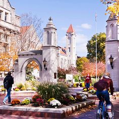 Indiana University | 41 Scenic College Campuses That Were Made For Instagram