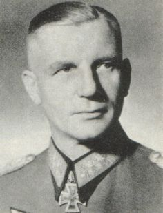 General der Infanterie Kurt Oskar Heinrich Ludwig Wilhelm von TIPPELSKIRCH (9 October 1891 – 10 May 1957) is son, Adolf-Hilmar von Tippelskirch served on Eastern Front reaching the rank of Major; he was killed in action near Mogilev in Russia on 28 June 1944. Knight's Cross on 23 November 1941 as Generalleutnant and commander of the 30. Infanterie-Division; 539th Oak Leaves on 30 July 1944 as General der Infanterie and deputy commander-in-chief of the 4. Armee