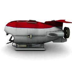 Underwater Submersible Vehicles Concept | 3d model underwater bathyscaphe - Bathyscaphe MIR... by modelsaler