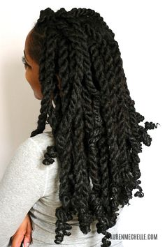 Jumbo Marley Twist Tutorial | They were perfect for vacation – I was sweating like a maniac, and ...