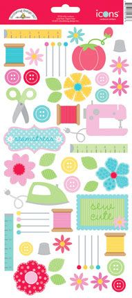 Doodlebug+Design+-+Nifty+Notions+Collection+-+Cardstock+Stickers+-+Icons+at+Scrapbook.com