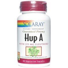 Hup A de Solaray es un complemento nutricional que aporta nutrientes cerebrales y estimulantes de la actividad del sistema nervioso central. 15% de descuento!
