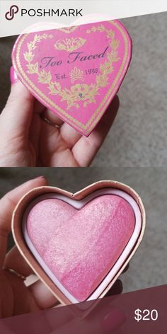 Too faced blush Something about berry blush. Lightly used. Too Faced Makeup Blush