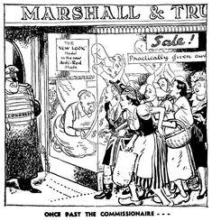 January.1948, UK- British cartoonist Leslie Gilbert Illingworth
