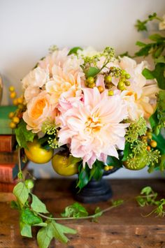 Pink, yellow & orange poppies & posies color inspiration, Missy Photography
