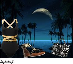 """Moonlight"" by stilistic on Polyvore"