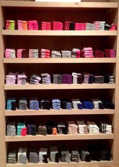i need socks for italy! all socks, short socks, tall socks, warm socks. Sock Display, Cabin Socks, Tall Socks, Crazy Socks, Short Socks, Inner Child, Dear Santa, New Wardrobe, Visual Merchandising