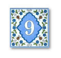 Address Numbers House Number House numbers signs by AyeBarDesigns