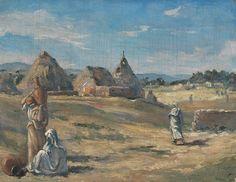 Frank Buchser - Moroccan village
