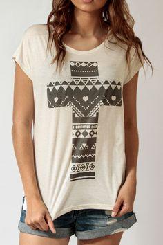 Cruz de poder - Feminino - Camisetas cristãs