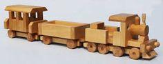 plano de trem de brinquedo de madeira especial 40 cm de comp.