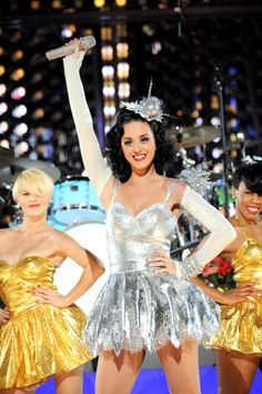 "Katy Perry performs ""California Gurls"" during ""The GRAMMY Nominations Concert Live!!"" on Dec. 1, 2010"