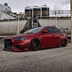 #Mitsubishi #EvoX #Slammed #Stance #Modified